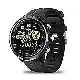 Pomya Smart Watch Fitness Tracker, Zeblaze Vibe 4 Hybrid Impermeable Bluetooth Maquinaria Full View Activity Tracker Información Recordatorio Cámara remota Deportes Smartwatch