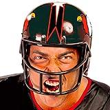casco rugby disfraz