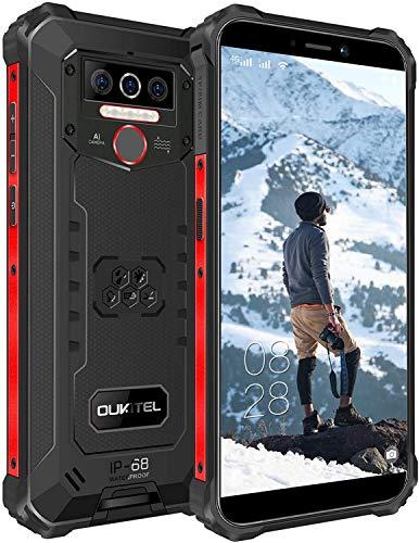 OUKITEL WP5 Rugged Smartphone, 4G LTE Dual SIM IP68 Waterproof Unlocked...