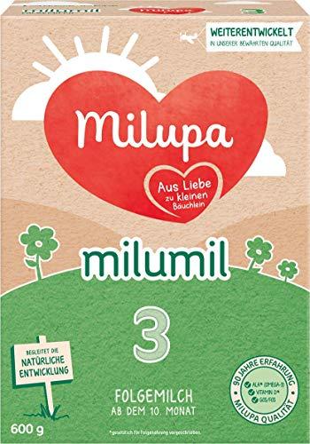 Milupa Milumil 3, Folgemilch ab dem 10. Monat (1 x 600 g)