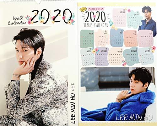 イミンホ イ・ミンホ グッズ 大判 壁掛け カレンダー 2020年 (令和2年) + 年間カレンダー + ポストカード [3点セット]