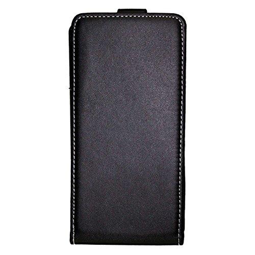 caseroxx Flip Cover für BQ Aquaris M5.5, Tasche (Flip Cover in schwarz)