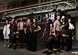 1-HO7E4A Chicago Fire 86cm x 60cm,34inch x 24inch Silk