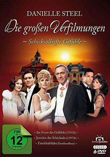 Danielle Steel - Die großen Verfilmungen: Schicksalhafte Gefühle [6 DVDs]