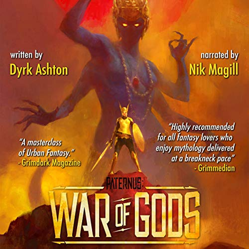 Paternus: War of Gods cover art