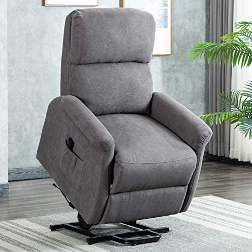 Bonzy Home Fabric Power Lift Recliner Chair