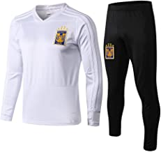 WigColtd Sportbekleidung Trainingsanzug Mit Langen Ärmeln, Schwarzes Outfit, Jersey-Fußballuniform