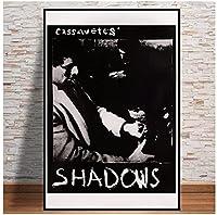 影R1980s映画ポスタークラシックヴィンテージレトロキャンバスプリントアートポスター壁画家の装飾(50X75Cm)-20x30インチフレームなし