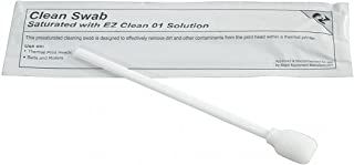 Brady Thermal Transfer Printer Cleaning Kit - Foam Swabs with IPA Cleaning Solution - PCK-6 (Pack of 50)