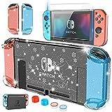 HEYSTOP Carcasa para Nintendo Switch, Funda Nintendo Switch con Protector de Pantalla para Nintendo Switch Console y...
