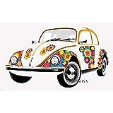 BRISA VW Collection Wandtattoo Wandaufkleber Wanddekoration