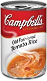 Campbell's Condensed Old Fashioned Tomato Rice Soup 11oz Can Pack of 6