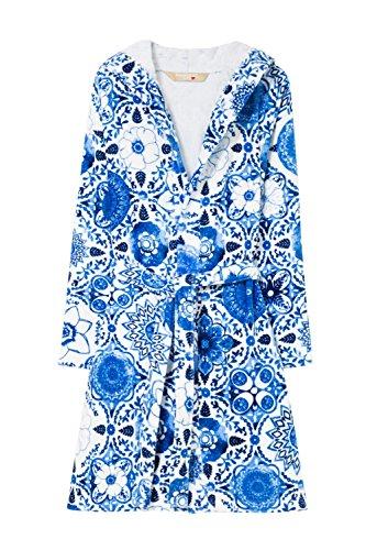 Desigual Albornoz Mujer Think in Blue, Azul, Medium