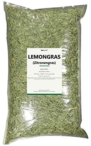 1KG teevendo Lemongras Tee Zitronengras geschnitten Kräutertee