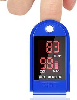 Oxímetro de Pulso Sp02 Oxímetro de Dedo Digital, Monitor