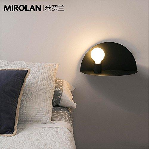 JJZHG Wandlamp, waterdicht, wandverlichting, nacht-, slaapkamer, wandgang, gang, plank, plug zit-decoratieve wandlamp omvat: wandlamp, stoere wandlampen, wandlampen, design