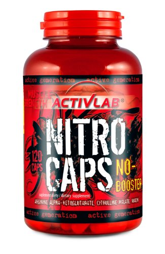 Activlab Nitro Caps Natural 120
