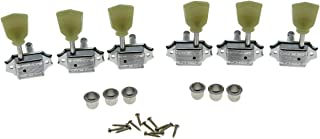 Wilkinson Chrome 3x3 Deluxe Vintage Tuners Tuning Keys Machine Head for Les Paul