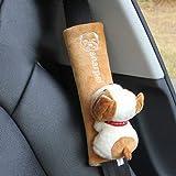 Accesorios para el automóvil cubierta del cinturón de seguridad seguro cubierta del hombro alargados hombres y mujeres conjunto de decoración de automóviles de dibujos animados lindo al por mayor
