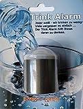 Trink Alarm Silber - Sie trinken zu wenig? Vergessen es? Der Trink Alarm erinnert Sie stündlich ans Trinken - bleiben Sie fit!