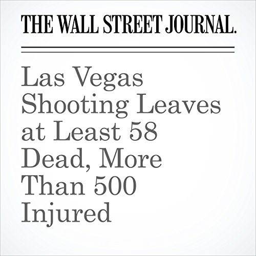 Las Vegas Shooting Leaves at Least 58 Dead, More Than 500 Injured copertina