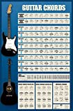 1art1 Guitarras - Guitar Chords Póster (91 x 61cm)