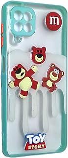 Back Cover 3D Cartoon Bear Toys For Samsung Galaxy A22 4G - Terquaze