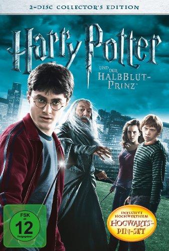 Harry Potter und der Halbblutprinz (Collector's Edition, 2 DVDs, Pin Set) [Alemania]