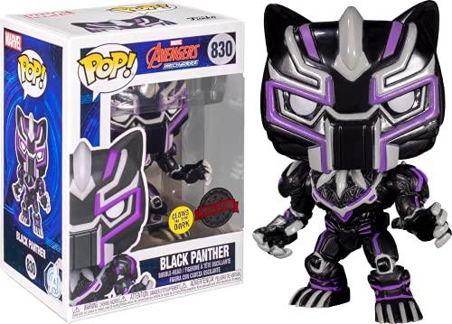 Black Panther - Marvel Mech Glow US Exclusive Pop! Vinyl [RS]
