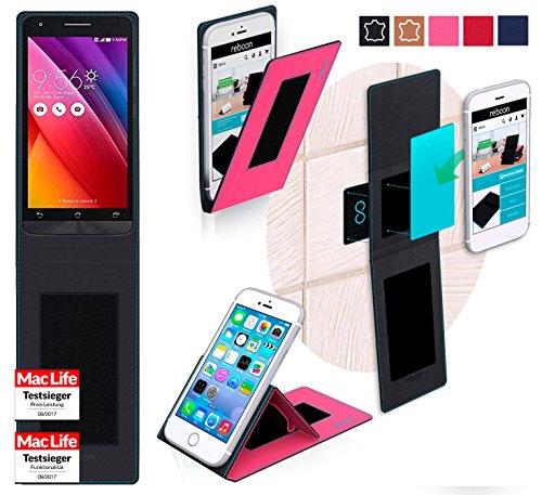 Hülle für Asus Zenfone Go 5.0 LTE Tasche Cover Hülle Bumper | Pink | Testsieger