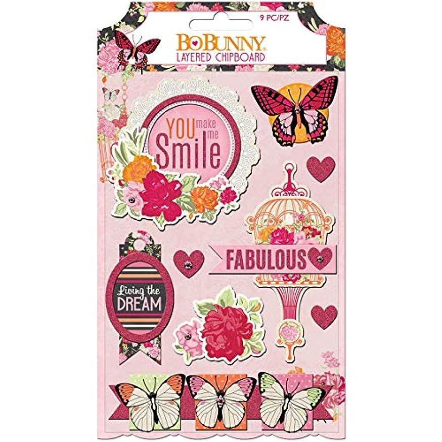 Bo Bunny 7310438 Stickers, Multi