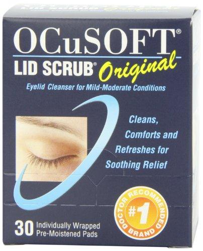 Ocusoft Lid Scrub, Pre-Moistened Pads, Original Formula, 30 pads in a box by Scope Ophthalmics