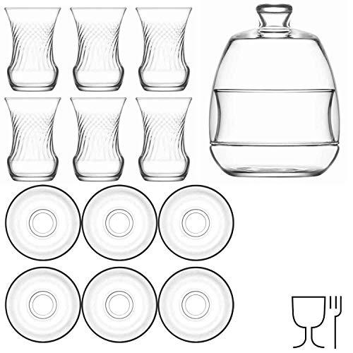 LAV 13 teiliges Tee-Set mit Zuckerschale