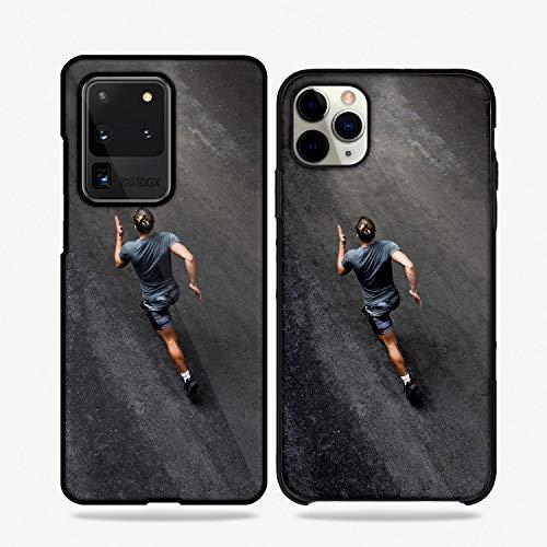 QFUNDAS Fundas De Moviles Carcasas De Moviles Funda Carcasa Modelo Diseños de Deportes, Running, Correr Compatible con Huawei P9 Lite