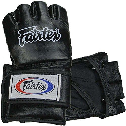 Fairtex MMA Handschuhe, FGV12, schwarz, Gloves, Freefight, Grappling, Vale Tudo Größe M