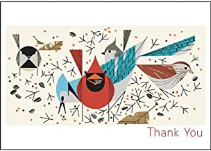 Birdfeeders Boxed Thank You Notes