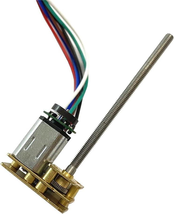 WHEEJE New product DC 3V6V12V N20 Motor Selling and selling M3 GA1024N20 Screw shaft thread M455