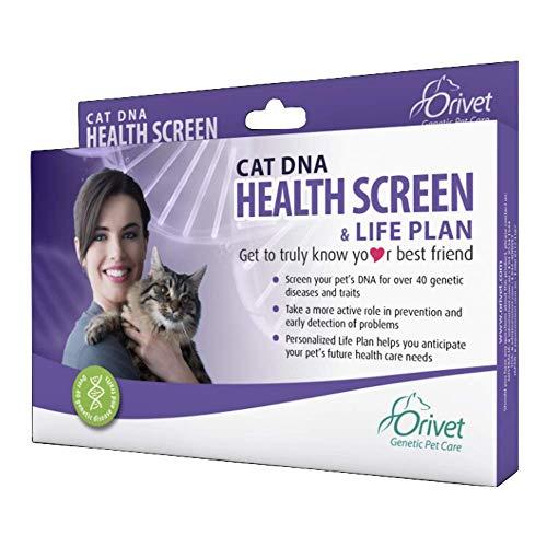 ORIVET Cat DNA Test Kit | Health Screen with Life Plan