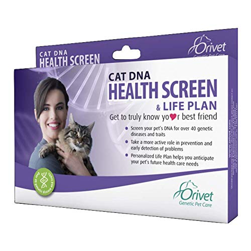 ORIVET Cat DNA Test Kit | Health Screen with Life Plan