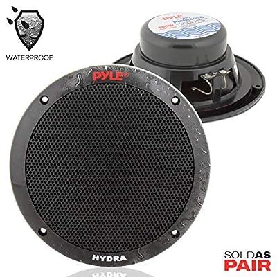 Pyle 6 1/2-Inch Dual Cone Marine Speakers