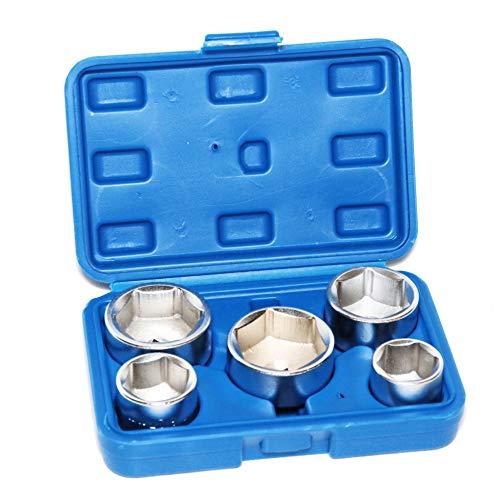 Ölfilterkappen Ölfilter Steckschlüssel Nüsse Werkzeug 24 27 32 36 38mm 5102