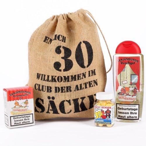 Cera & Toys® Geburtstagsgeschenk Set 30 (4-Teilig)