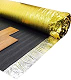 Royale Sonic Gold 5mm Comfort Underlay for Laminate or Wood Flooring - 1 Roll - 15m2