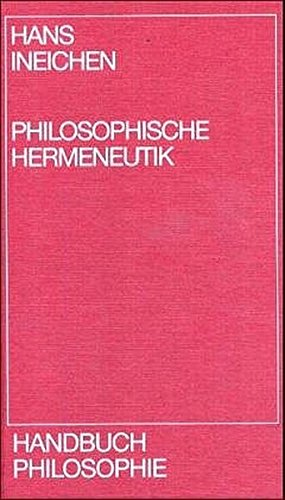 Handbuch Philosophie, Philosophische Hermeneutik