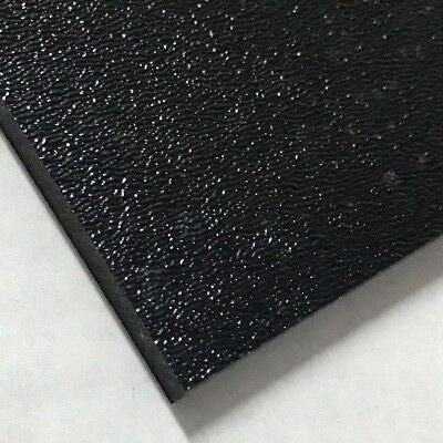 2 Pack  12 x 12 x 1/16  ABS Plastic Sheets Moldable Plastic Sheet Textured  Technology Island