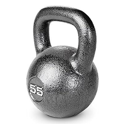 Marcy HKB-055 Hammertone Kettlebell, 55 lb, Black from IMPEX
