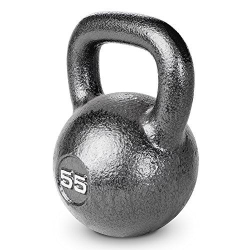 Marcy HKB-055 Hammertone Kettlebell, 55 lb, Black