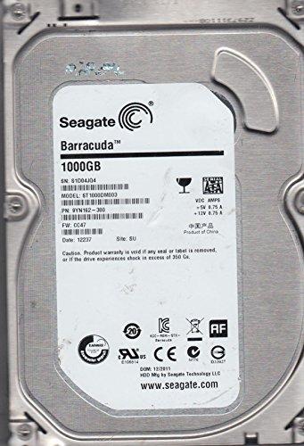 ST1000DM003, Z1D, TK, PN 1CH162-510, FW CC47, Seagate 1TB SATA 3.5 Hard Drive