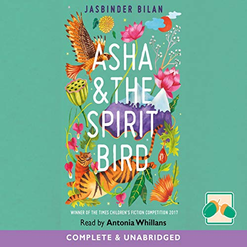 Asha and the Spirit Bird audiobook cover art