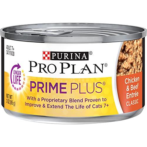Purina Pro Plan Senior Pate Wet Cat Food, PRIME...